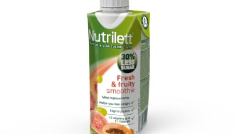 Nutrilett Fresh & Fruity Less sugar smoothie