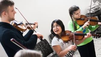 Bas, fiol och flöjt - Fler barn i Ronneby kommun kan lära sig att spela ett instrument