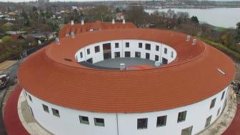 Julemærkehjemmet i Roskilde med røde Dantegl