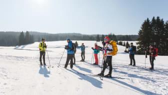 Stoneman on Snow Skitour