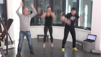 Tag der Rückengesundheit am 15.03.2018 - Die Rückenübungen für den Flashmob