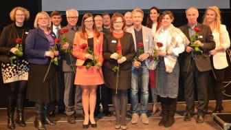 Prof. Dr. Elke Berninger-Schäfer (Mitte), Prof. Dr. Michael Nagy (re.), weitere Protagonist*innen des Fachkongresses. Foto: Franz Motzko
