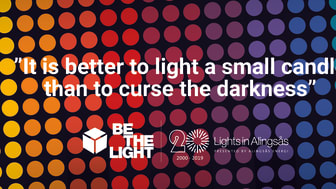 BE THE LIGHT Press release