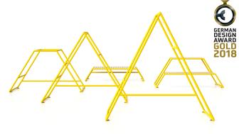 Kebne utegym, Gold German Design Award 2018