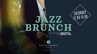 Jazz Brunch, Saturdays 12-4pm, in collaboration with Gigital