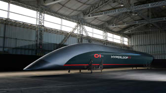 Hyperloop TT capsule in Tolouse