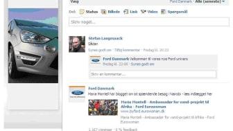 FORD DANMARK PÅ FACEBOOK