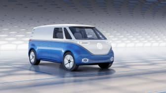 Volkswagen Erhvervsbiler byder på hele fem verdenspremiere på IAA Nutzfahrzeuge-messen i Hannover heriblandt I.D. Buzz Cargo