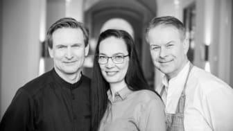 Patrik Högberg, Bodil Stigsdotter och Fredrik Eriksson