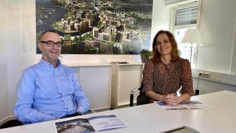 Jon Chr. Simenstad er ny utbyggingsdirektør og Gøril Bergh er ny administrerende direktør fra mandag 1. mars.