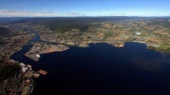 Drammen havn - Foto: Terje Løchen