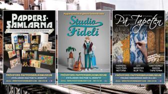 Tre utställningar med papperstema på Frövifors Pappersbruksmuseum