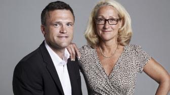 Henrik Martin och Charlotta Wikström, författare till Talent Management i praktiken