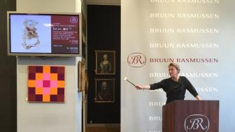 Alexa Bruun Rasmussen sælger Arje Griegsts unikaring for 360.000 kr.