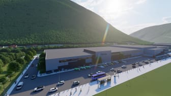 Illustration of Hima Seafood's planned facility.