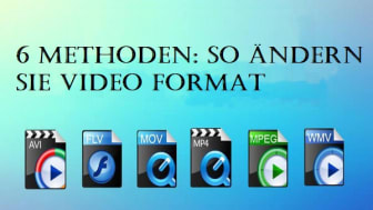 video format ändern