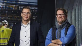 Michael Sundvik, ansvarig för Midroc EPC och Jonas Bergmark, VD på Midroc Automation