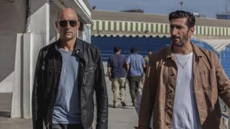 Mark Strong och Fares Fares i Deep State. Premiär på FOX den 24 april kl 21.55.