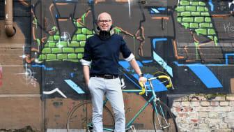Fredrik Carling CEO Hövding, Das schwedische Unternehmen verzeichnet mit seinem Airbag-Fahrradhelm eine Steigerung der Verkaufszahlen um 118 Prozent in der zweiten Jahreshälfte 2018