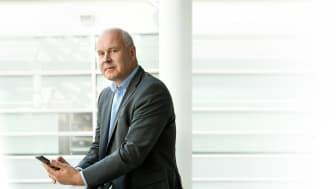 Yrityssalon toimitusjohtajan Jyrki Moilasen mukaan Salossa on kasvualustaa uusiutumiselle. Kuva: Yrityssalo Oy