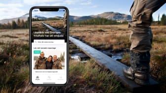 Upptäck Sverige och allt som den nordiska naturen har att erbjuda med NOA, den digitala lägerelden för friluftsentusiaster.