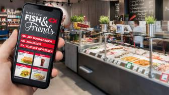 Der NORDSEE Kundenclub Fish & Friends - Per App können Kunden jetzt noch mehr Vorteile generieren