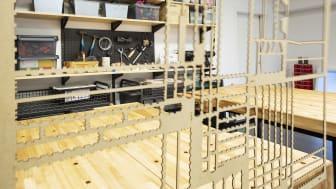 Vårbyelever inviger Tekniska museets kreativa labb