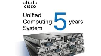 Ciscos datacenterlösning firar femårsjubileum