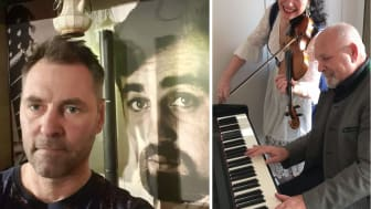 Jonas Amcoff (26 juli) samt Mona Rosell och Wojtek Rutskovski (2 augusti) gästar kommande musikkvällar på Svalbo Café.
