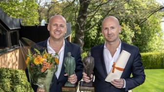 Christoffer och Richard Bergfors Årets företagare 2018