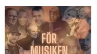 För musiken - ett unikt musikprojekt till förmån för Ebbas änglar