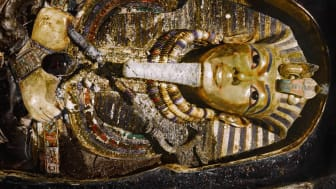Tutankhamuns begravningsmask – ett ansikte för evigheten