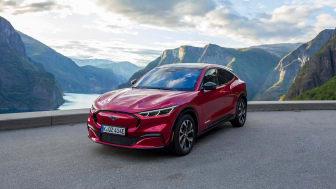 Säljstart för Ford Mustang Mach-E i Sverige