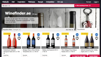 Winefinder.se på MatHem.se