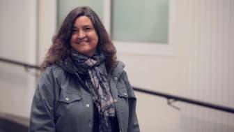 Christina Storm Mienna, lektor vid Umeå universitet och övertandläkare vid Region Västerbotten, ny föreståndare för Várdduo – Centrum för samisk forskning. Foto: Per Melander, Umu