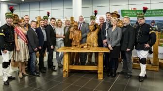 Gemeinschaftspräsentation im Flughafen Dresden