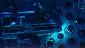Interndelar kapas i reaktortanken på Barsebäck 1