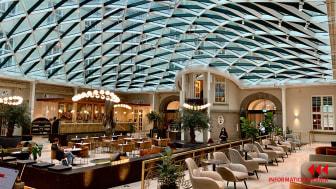"""När man kommer in i hotellet möts man av magiska """"Court Yard"""" som bjuder på en fantastisk atmosfär."""
