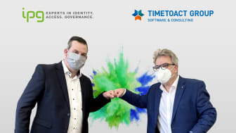 Marco Rohrer, Group CEO IPG, (l.) und Felix Binsack, Geschäftsführer der TIMETOACT GROUP. Foto: TIMETOACT GROUP