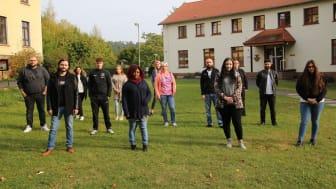 Herzlich Willkommen: An der Hephata-Akademie hat der erste Jahrgang mit der neuen, generalistischen Pflegeausbildung begonnen.