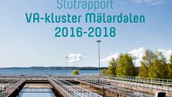 Ny C-rapport från SVU: Slutrapport VA-kluster Mälardalen 2016-2018