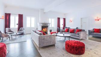 Lounge i Östra flygeln
