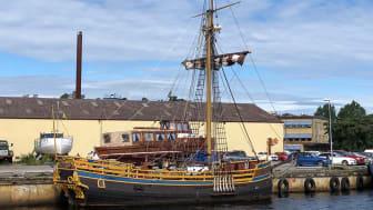 Rekonstruktionen av Postjakten Hiorten finns nu ute på auktion på klaravik.se