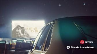 Stockholmsmässan och SF Anytime bjuder på drive-in-bio