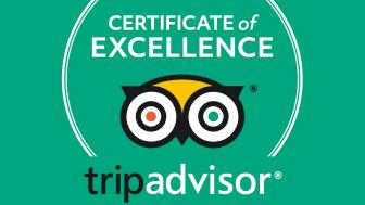 Flygbussarna har fått TripAdvisors utmärkelse Certificate of Excellence 2018