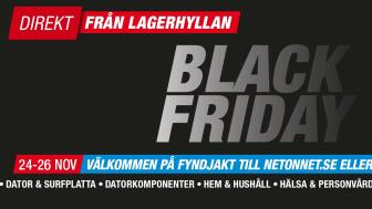 Black Friday hos NetOnNet inleddes med många nya rekord