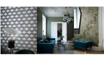"Engblad & Co lanserar Lounge Luxe - en tapetkollektion som skapar ""That getaway feeling"" i ditt hem"
