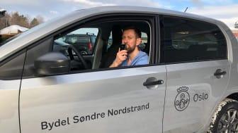 Thomas Nordli, fysioterapeut i bydel Søndre Nordstrand