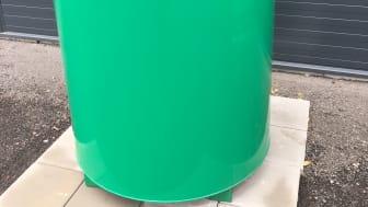 Invallad hyrtank 970 liter