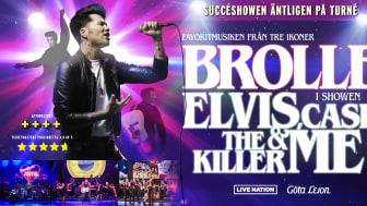Brolle till Scandinavium med succéshowen Elvis, Cash, The Killer & Me